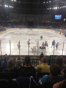 The Belfast Giants take on the Nottingham Panthers