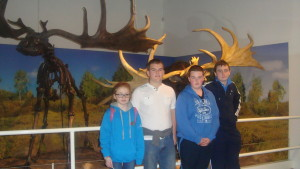 In the Ulster Museum