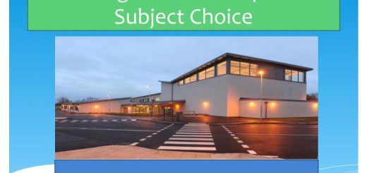 Parents Information on Third Year Subject Choice 21_22 - Lockdown