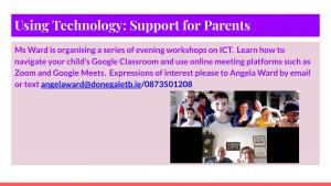 parent course ICT