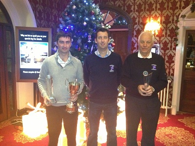 Winner Oliver Plunkett and runner up Sean Murphy with capatin Paddy Mc Daid-small